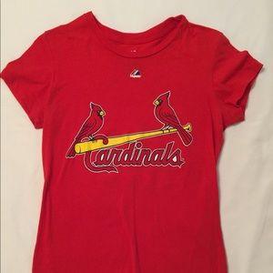 """Ladies St. Louis """"Freese"""" Tee Shirt"""
